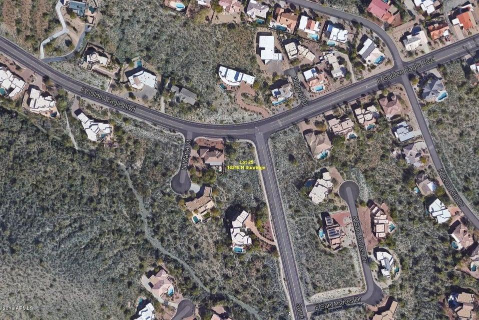 16218 N SUNRIDGE Drive Lot 25, Fountain Hills, AZ 85268
