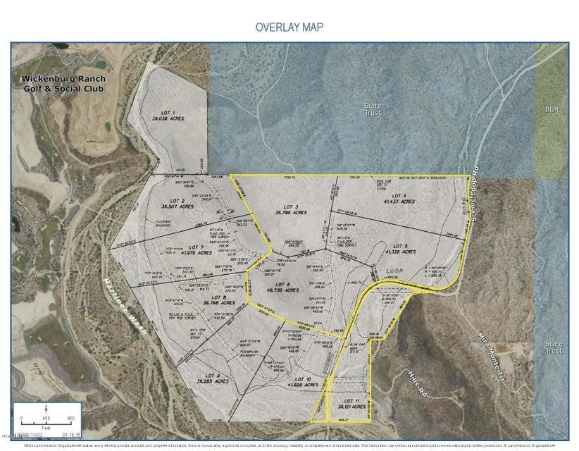 36475 S Scenic Loop Road Lot 11, Wickenburg, AZ 85390