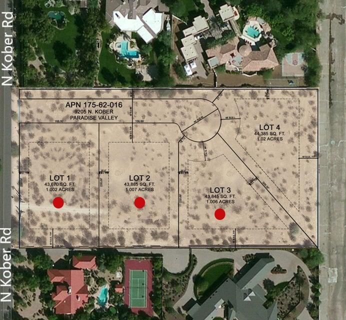 6557 E BERNEIL Drive Lot 4, Paradise Valley, AZ 85253