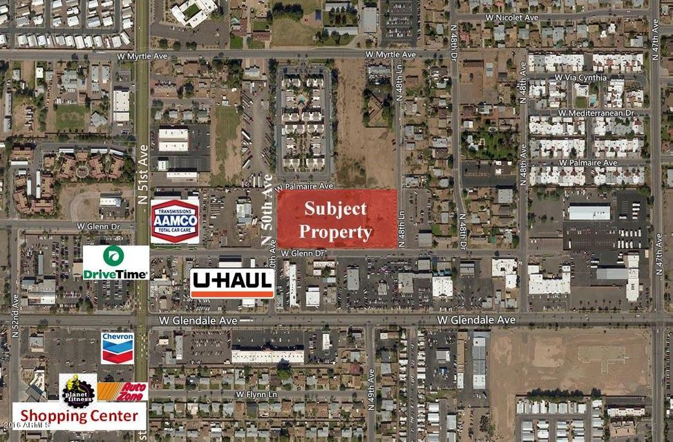 NEC Glenn & 50th Avenue Glendale, AZ 85301 - MLS #: 5507752
