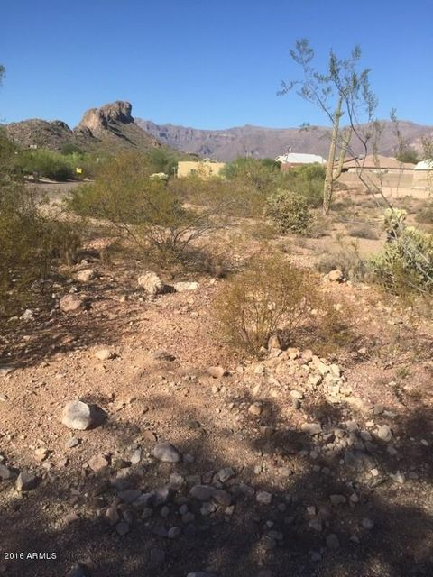 6291 S EAGLE PASS Road Lot 366, Gold Canyon, AZ 85118