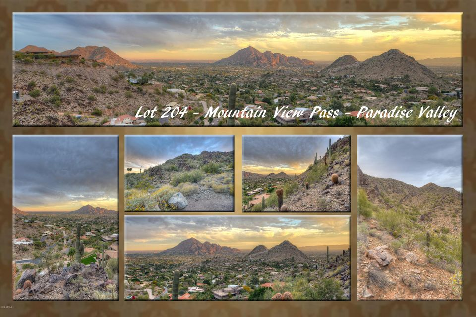 7700 N Mountain View Pass -- Lot 204, Paradise Valley, AZ 85253