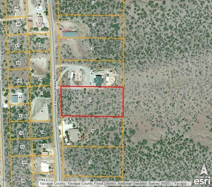 18129 S Peeples Valley Road Lot 5, Peeples Valley, AZ 86332