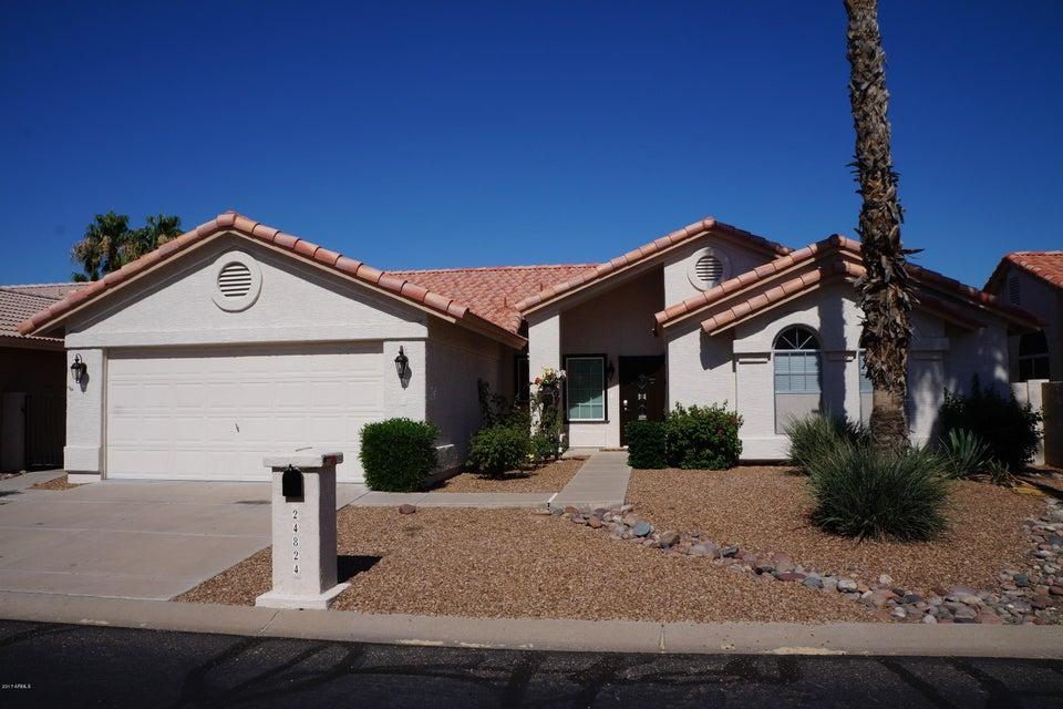 24824 S Foxglenn Drive, Sun Lakes, AZ 85248