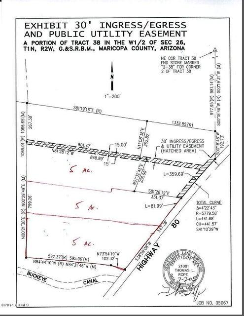 17852 W MC 85 Highway Lot 1, Goodyear, AZ 85338