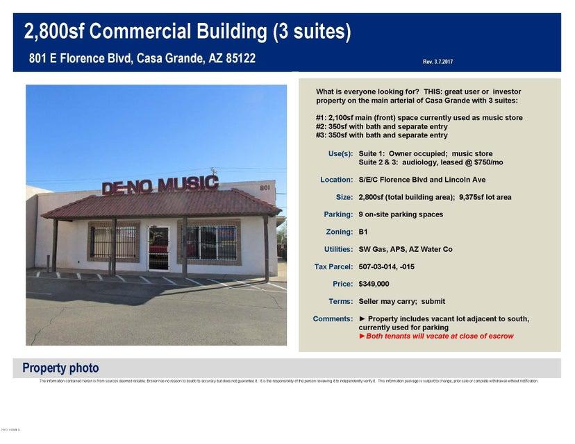 801 E Florence Boulevard, Casa Grande, AZ 85122
