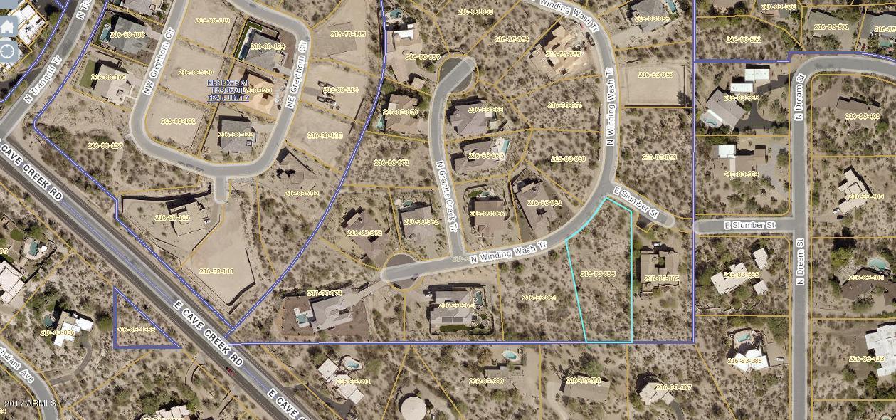 37087 N WINDING WASH Trail Lot 25, Carefree, AZ 85377