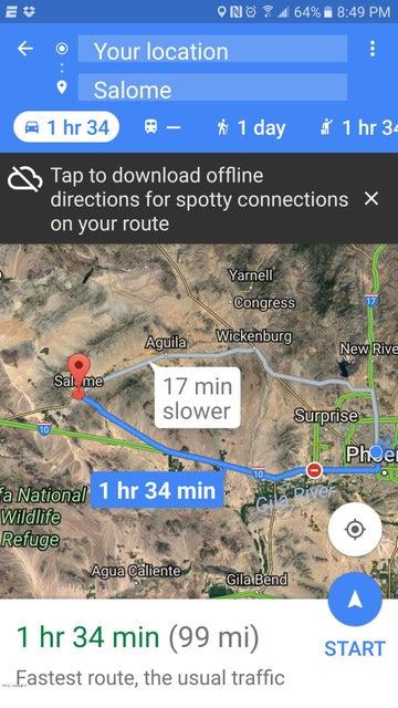 76438 58TH Street, Salome, AZ 85348