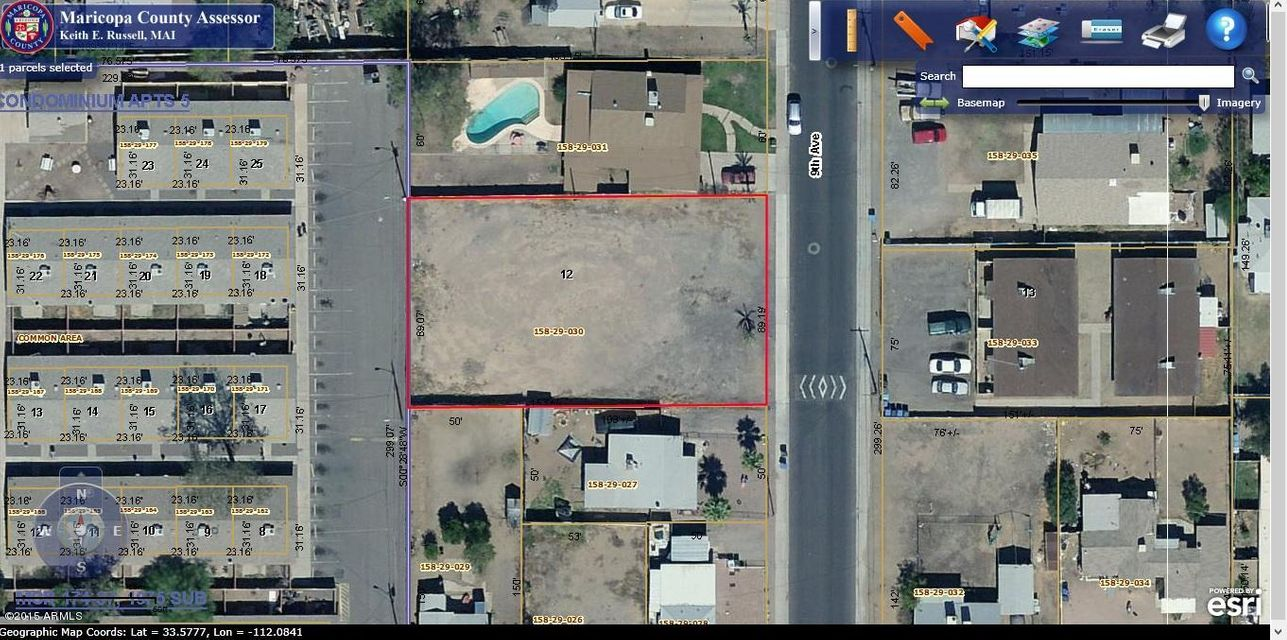 10014 N 9TH Avenue Lot 12, Phoenix, AZ 85021