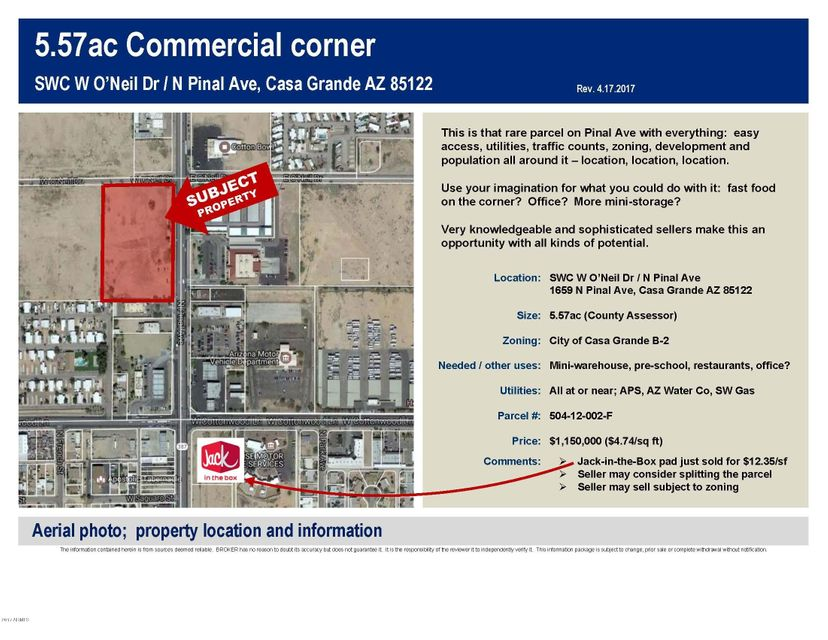 1659 N Pinal Avenue, Casa Grande, AZ 85122