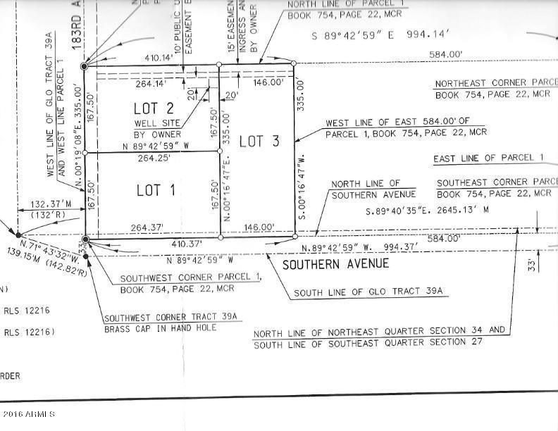 W Southern Avenue Lot 1, Goodyear, AZ 85338