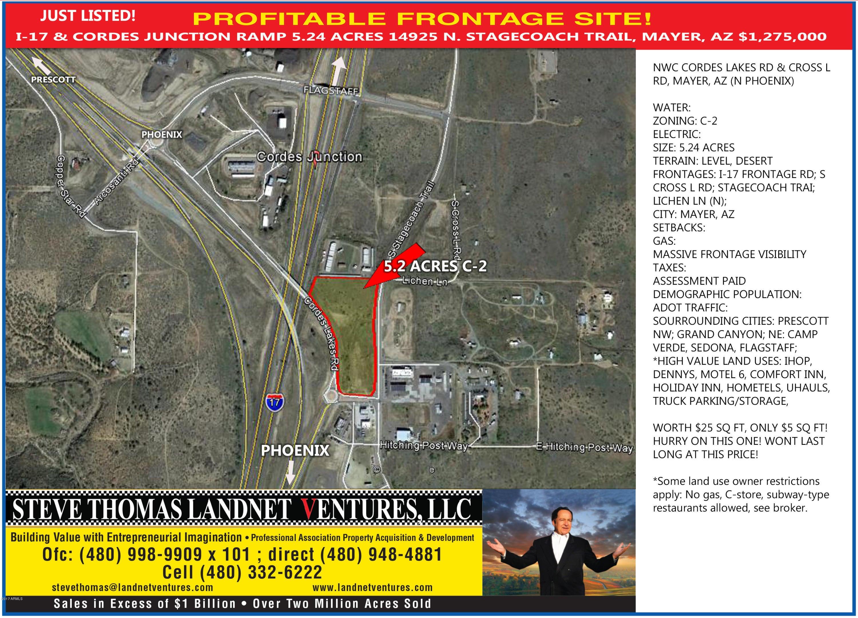 14814 S STAGECOACH Trail, Mayer, AZ 86333