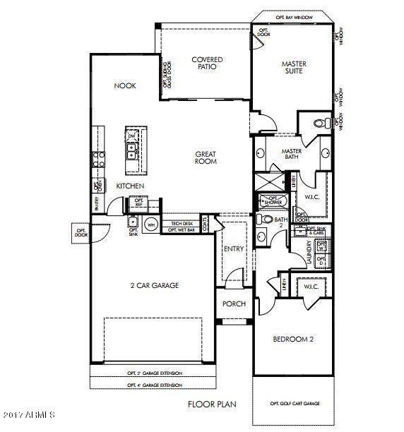 206 N AGUA FRIA Lane Casa Grande, AZ 85194 - MLS #: 5616082