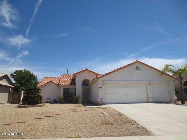 981 S CANAL Drive, Gilbert, AZ 85296