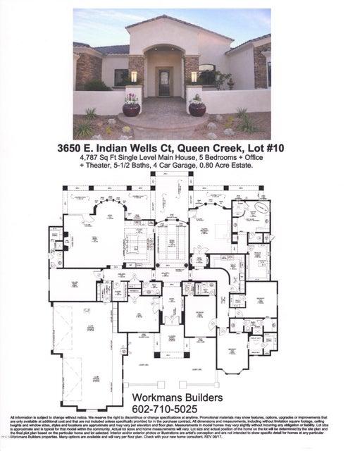 3650 E Indian Wells Court, Queen Creek, AZ 85142