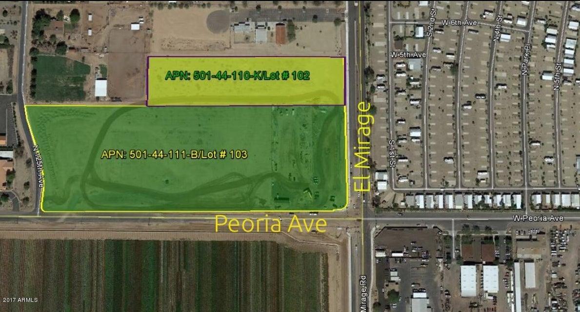 11104 N EL MIRAGE Road Lot 102, El Mirage, AZ 85335