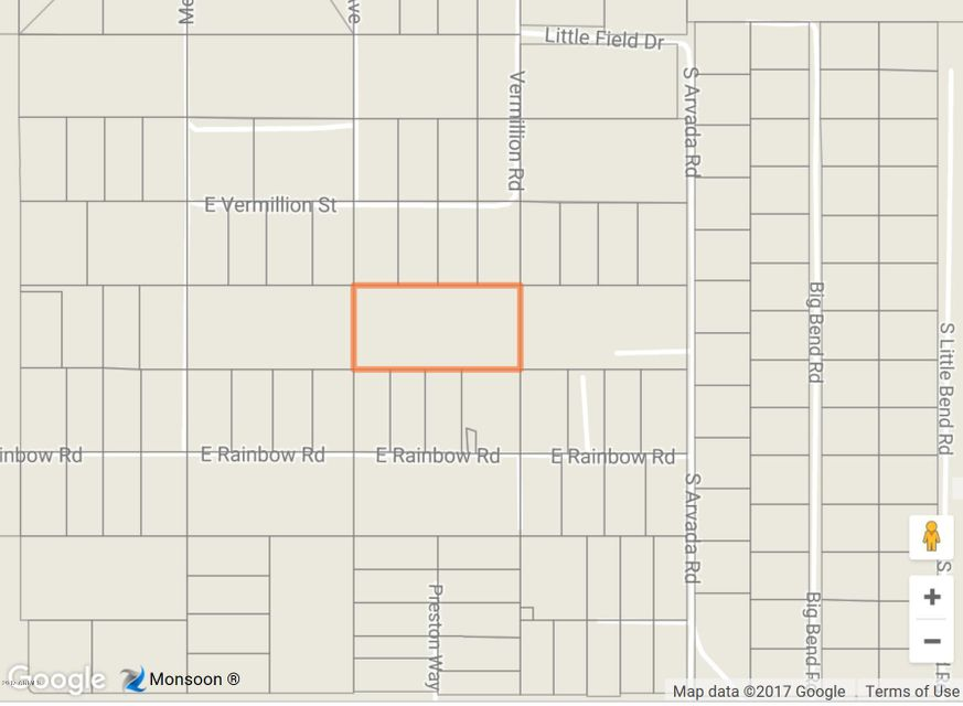 XX S VERMILLION Road Lot 0, Unincorporated County, AZ 86442