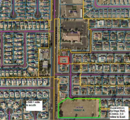 654 S SETON -- Lot 114, Mesa, AZ 85206