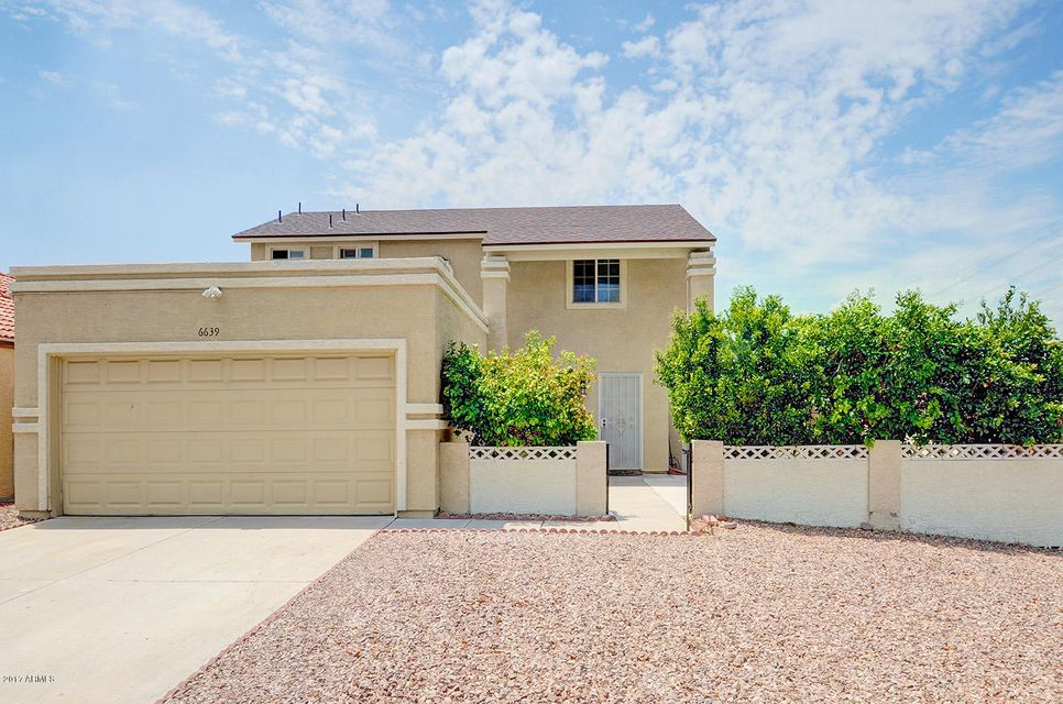 6639 W BROWN Street, Glendale, AZ 85302