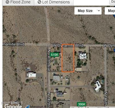 N DYNAMITE/147TH Avenue N, Surprise, AZ 85387