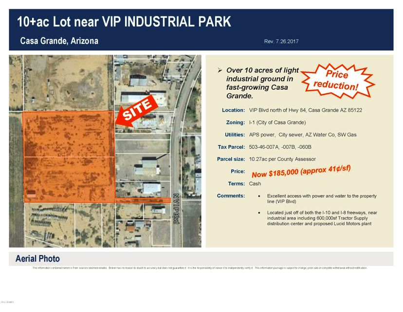 000 VIP Boulevard, Casa Grande, AZ 85122
