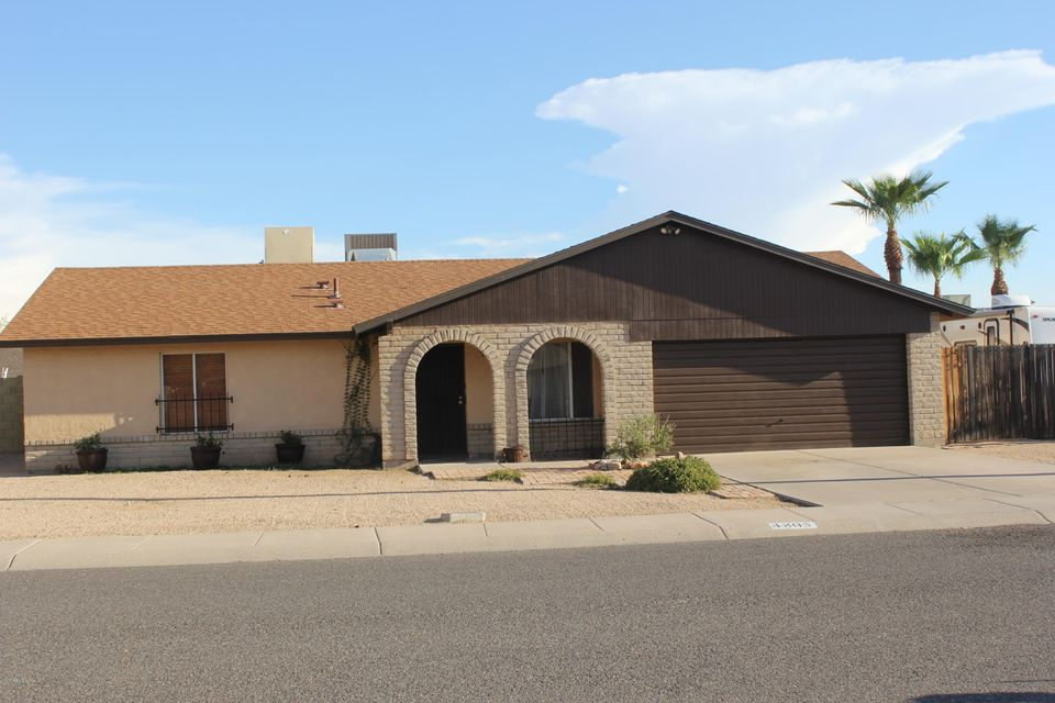 4805 W ROSEWOOD Avenue, Glendale, AZ 85304