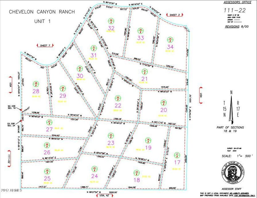 5649 HONEY BEE Trail Heber, AZ 85928 - MLS #: 5641178
