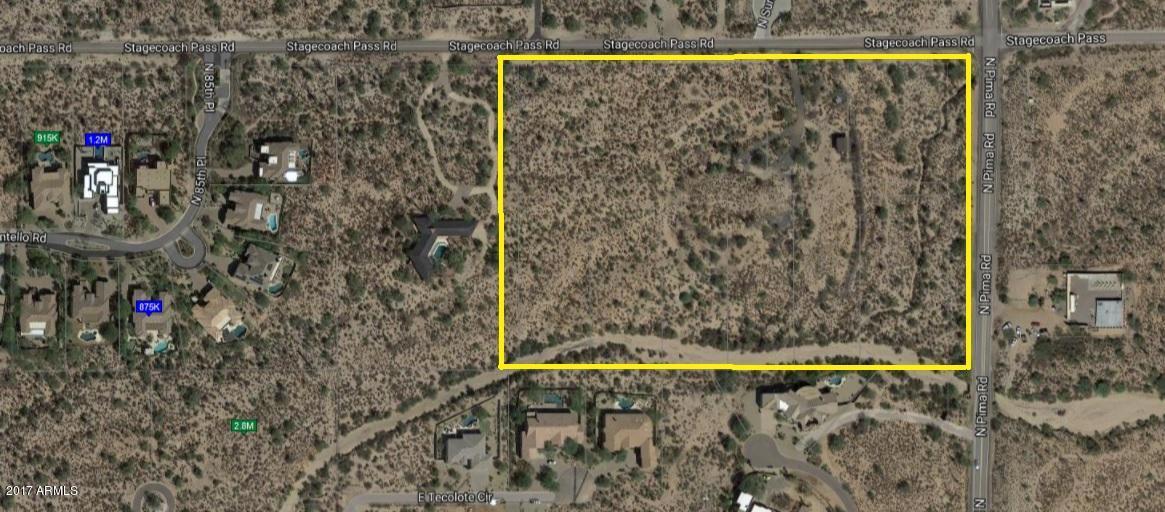 8681 E STAGECOACH PASS Pass Lot 1, Scottsdale, AZ 85266