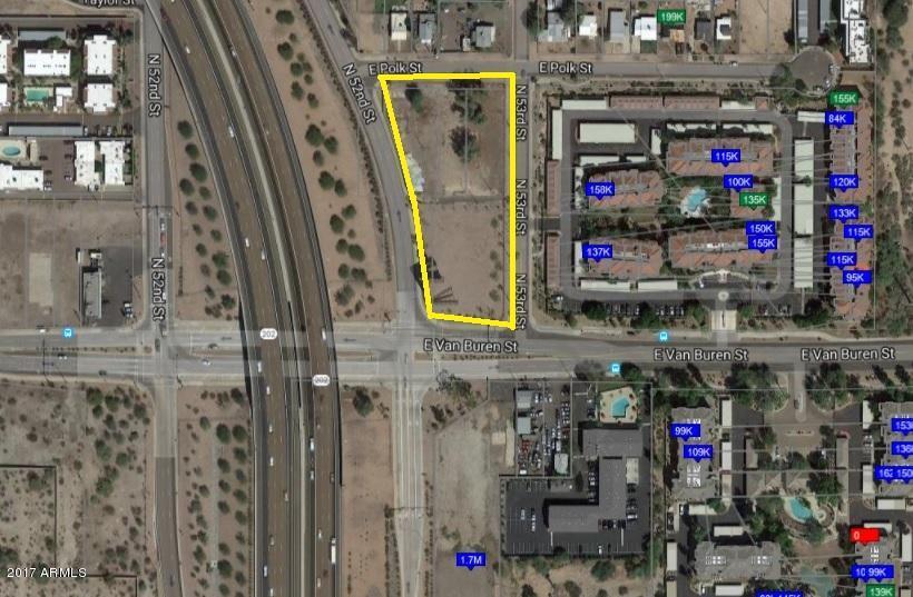 5260 E VAN BUREN Street Lot 10, Phoenix, AZ 85008