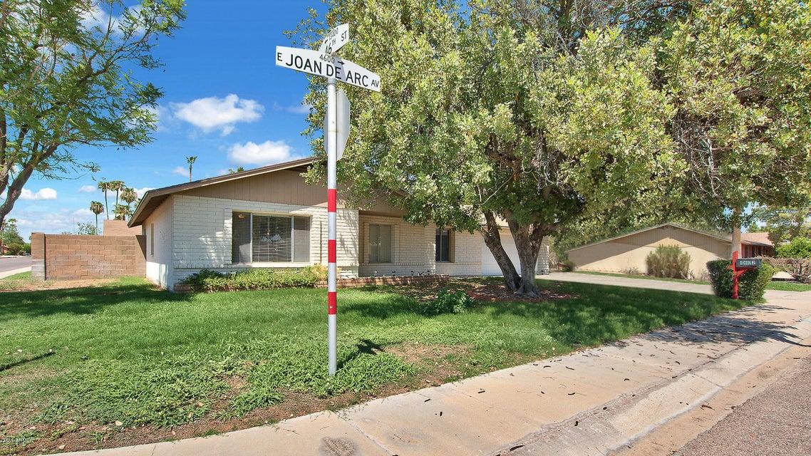 4602 E JOAN DE ARC Avenue, Phoenix, AZ 85032