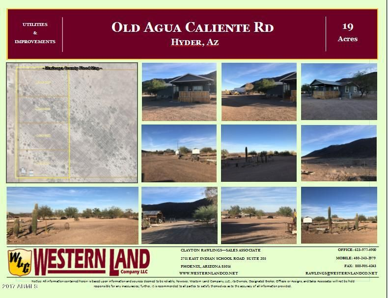 49127 S 592 Avenue Dateland, AZ 85333 - MLS #: 5701874
