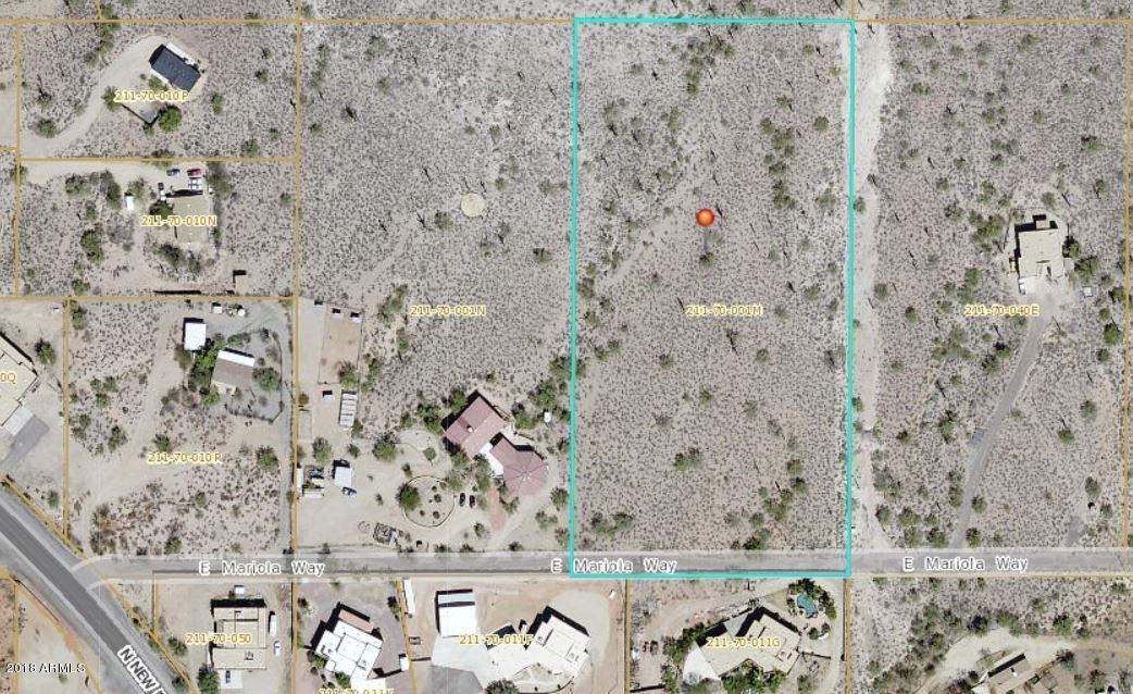 0 E Mariola Way Way Desert Hills, AZ 85086 - MLS #: 5721068