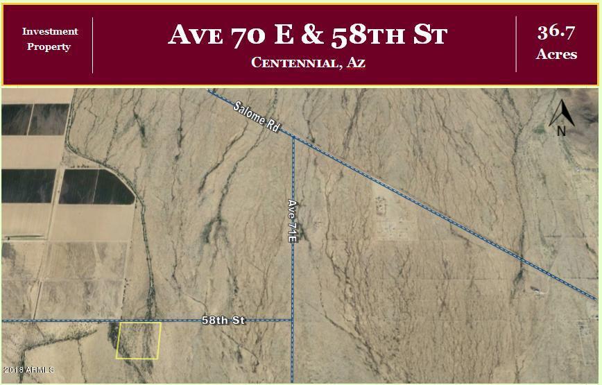 000 Ave 72E & 58th Street Vicksburg, AZ 85348 - MLS #: 5721573
