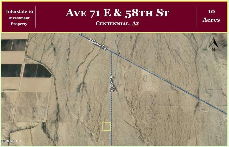 000 Ave 71E & 58th Street Vicksburg, AZ 85348 - MLS #: 5721550