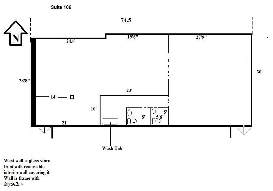17224 N 43RD Avenue Unit 106 Glendale, AZ 85308 - MLS #: 5724088