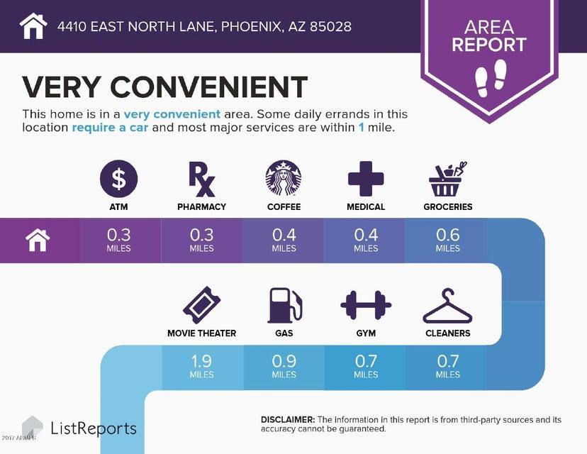 4410 E NORTH Lane Phoenix, AZ 85028 - MLS #: 5736458