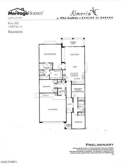 41180 W BRAVO Drive Maricopa, AZ 85138 - MLS #: 5763375