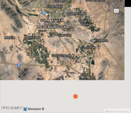 0 W Pearce Road Arizona City, AZ 85123 - MLS #: 5788924