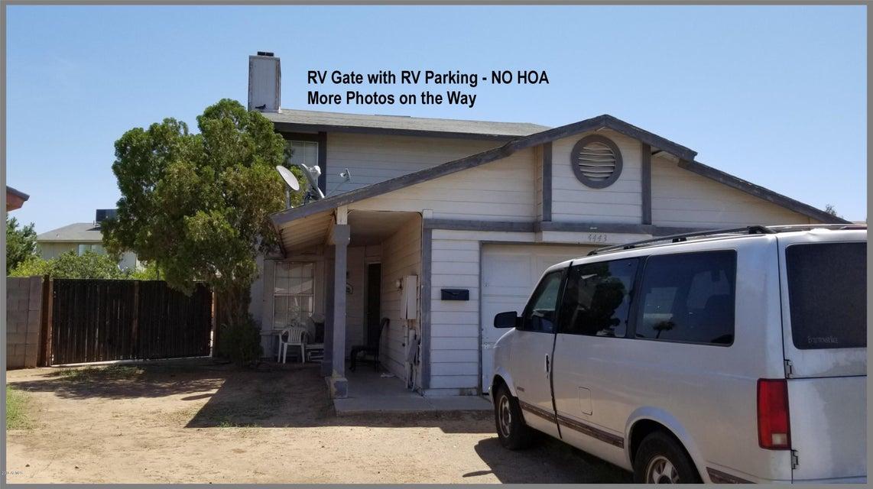 4443 N 85TH Avenue Phoenix, AZ 85037 - MLS #: 5796452