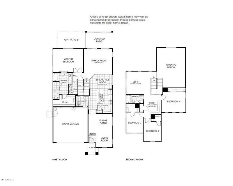1740 E DESERT BREEZE Place Casa Grande, AZ 85122 - MLS #: 5775159