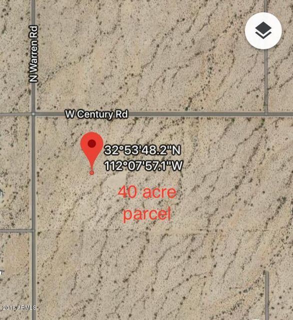 0 W Century Road Maricopa, AZ 85139 - MLS #: 5801332