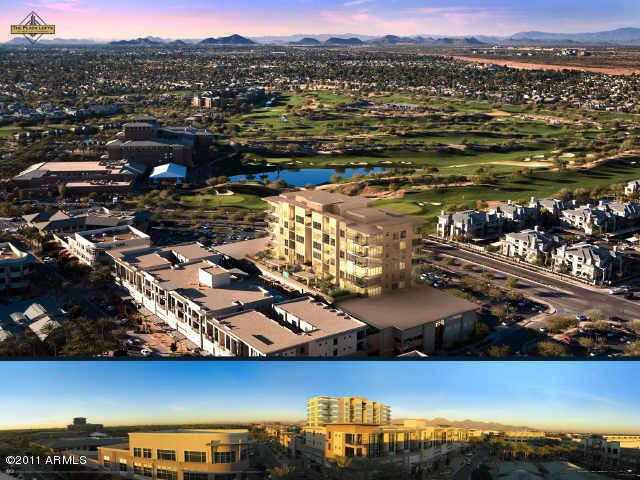 SouthEast Corner location in the only 9 Story Residential Tower in North Scottsdale