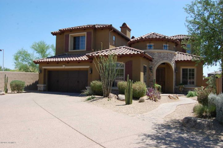 Welcome home! The long driveway makes it feel like you are coming home to your private estate!