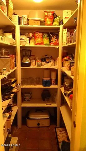 one of the two pantries