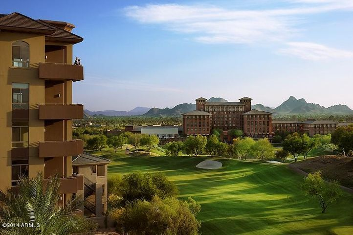 Westin Kierland Golf Course and resort walking paths out your back door.