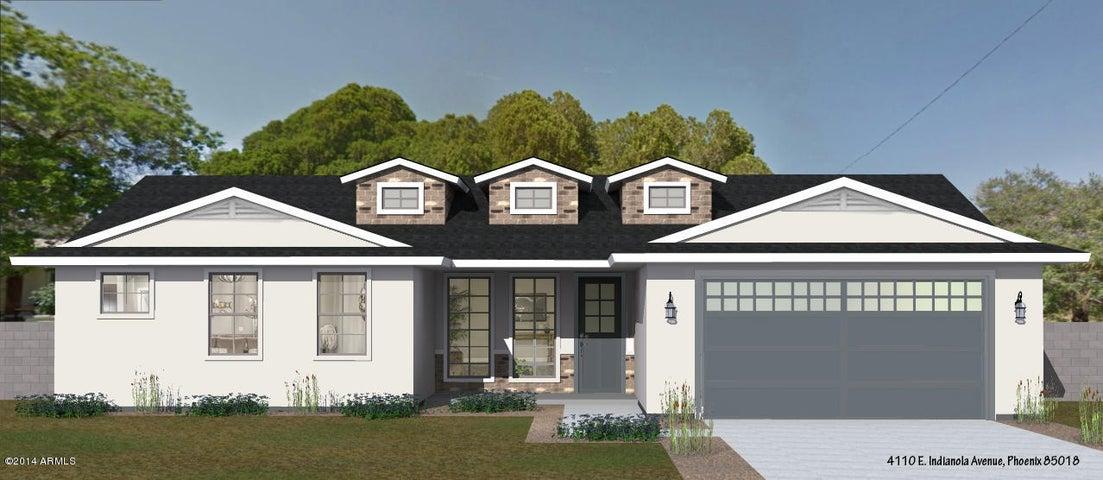 4110 E INDIANOLA Avenue, Phoenix, AZ 85018