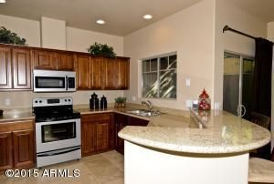 Fully Appointed Kitchen with Granite Countertops