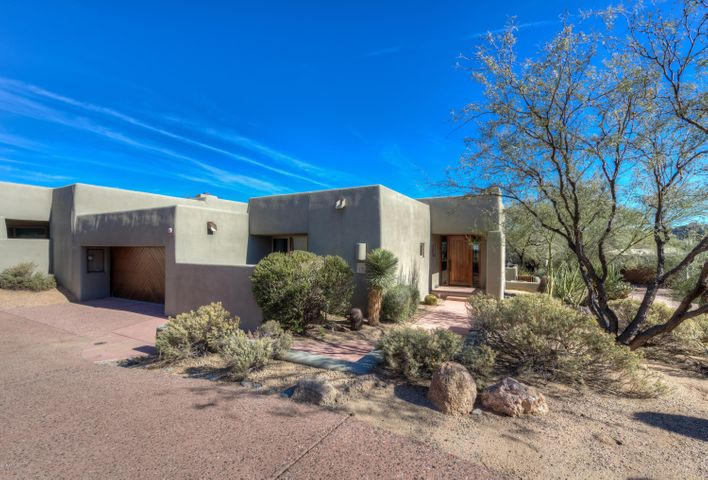 This Sonoran Cottage has its own driveway, while most share a driveway with one or two other cottages.