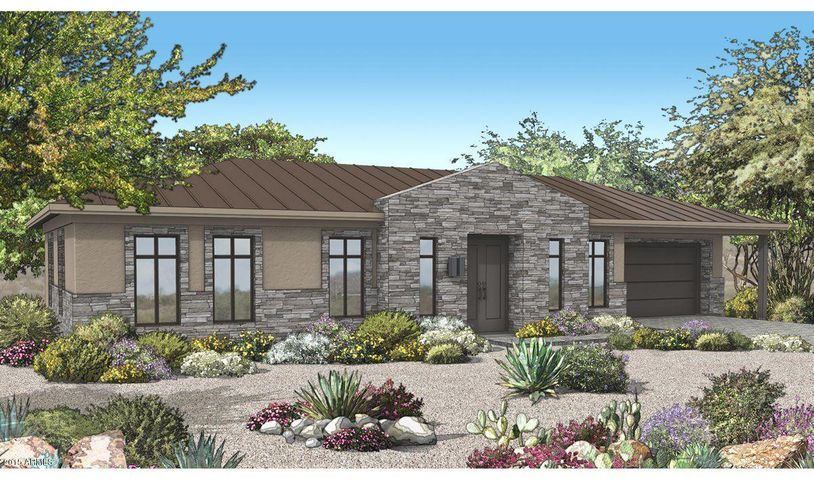 Lot 11 rendering of front elevation