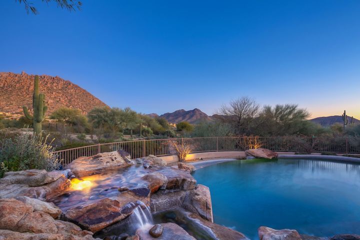 Captivating views from this amazing backyard.